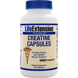 Life Extension Creatine Capsules 120 caps