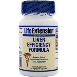 LIFE EXTENSION Liver Efficiency Formula 30 vcaps