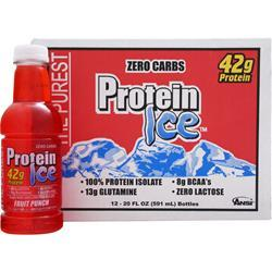 ANSI Protein Ice Ready to Drink (20 fl. oz.) Fruit Punch 12 bttls