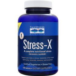 TRACE MINERALS RESEARCH Stress-X 120 tabs