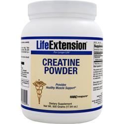 LIFE EXTENSION Creatine Powder (1.25g) 17.64 oz