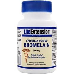 LIFE EXTENSION Bromelain - Specially Coated (500mg) 60 tabs