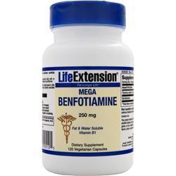 Life Extension Mega Benfotiamine (250mg) 120 vcaps