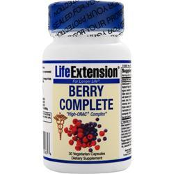 LIFE EXTENSION Berry Complete - High ORAC Complex 30 vcaps