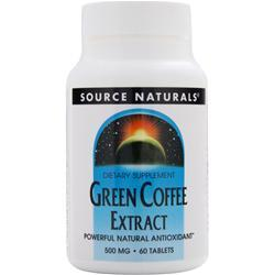 SOURCE NATURALS Green Coffee Extract (500mg) 60 tabs