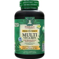 Emerald Laboratories Multi Vit-A-Min - Raw Whole Food Based Formula 120 vcaps