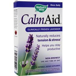 NATURE'S WAY CalmAid - Clinically Proven Lavender 30 sgels
