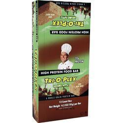 Chef Jay's Tri-O-Plex Bar Caramel Apple 12 bars