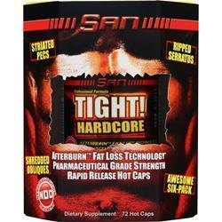SAN Tight Hardcore 72 caps