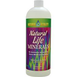 NATURAL VITALITY Natural Life Minerals Lemon-Lime 32 fl.oz