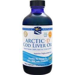 NORDIC NATURALS Arctic-D Cod Liver Oil Orange 8 fl.oz