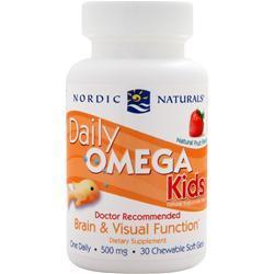 Nordic Naturals Daily Omega Kids 30 sgels