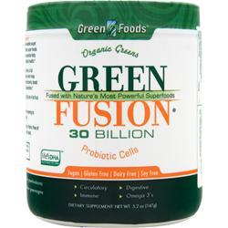 GREEN FOODS Green Fusion - 30 Billion Probiotic Cells 5.2 oz