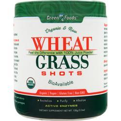 GREEN FOODS Wheat Grass Shots 5.3 oz