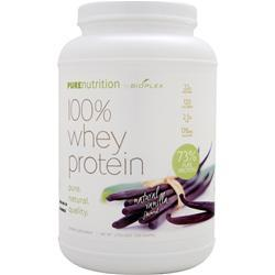 BIOPLEX NUTRITION Pure Nutrition - 100% Whey Protein (All Natural) Vanilla 2 lbs