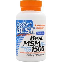 Doctor's Best Best MSM (1500mg) 120 tabs