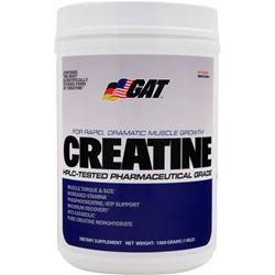 GAT Creatine 1000 grams