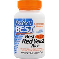 Doctor's Best Best Red Yeast Rice (600mg) 120 vcaps