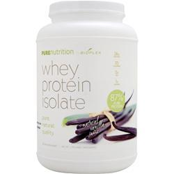 BIOPLEX NUTRITION Pure Nutrition - Whey Protein Isolate (All Natural) Vanilla 2 lbs
