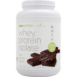 BIOPLEX NUTRITION Pure Nutrition - Whey Protein Isolate (All Natural) Cocoa 2 lbs