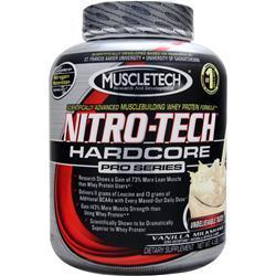 MUSCLETECH Nitro-Tech Hardcore Pro Series Vanilla Milkshake 4 lbs