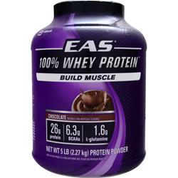 EAS 100% Whey Protein Chocolate 5 lbs