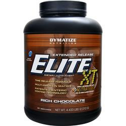 Dymatize Nutrition Extended Release Elite XT Protein Rich Chocolate 4.43 lbs