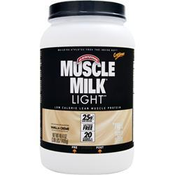 CYTOSPORT Muscle Milk Light Vanilla Creme 3.09 lbs