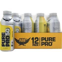 AMERICAN BODYBUILDING Pure Pro 50 RTD (14.5 fl.oz) Banana Cream 12 cans