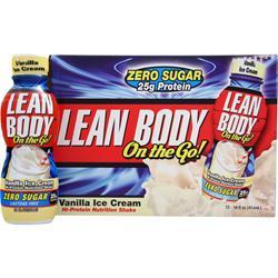 LABRADA Lean Body On the Go RTD (14 fl.oz.) Vanilla Ice Cream 12 cans