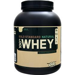 OPTIMUM NUTRITION 100% Whey Protein - Gold Standard (Natural) Vanilla 5 lbs