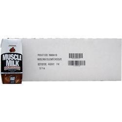 Cytosport Muscle Milk Collegiate RTD (11 fl.oz.) Chocolate Milk 12 cans