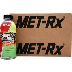 Met-Rx Extreme Thermo Rush RTD Lemon Lime 12 bttls