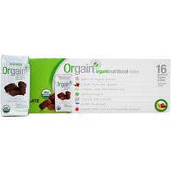 ORGAIN Orgain RTD Creamy Chocolate Fudge 12 cans