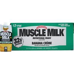 CYTOSPORT Muscle Milk RTD Banana Creme (17 fl.oz.) 12 cans