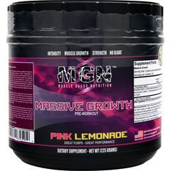 MGN Massive Growth Pre-Workout Pink Lemonade 225 grams