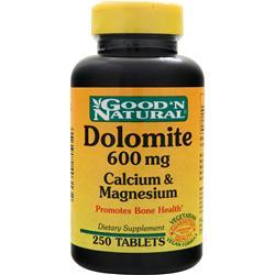 GOOD 'N NATURAL Dolomite (600mg) Calcium & Magnesium 250 tabs