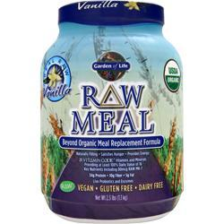 GARDEN OF LIFE Raw Meal - Beyond Organic Meal Replacement Formula Vanilla 2.5 lbs