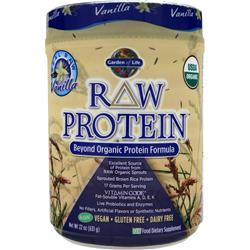 GARDEN OF LIFE Raw Protein Vanilla 631 grams