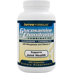 JARROW Glucosamine + Chondroitin Combination 240 caps
