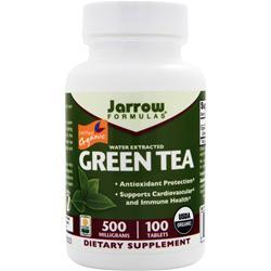JARROW Green Tea - Water Extracted (500mg) 100 tabs
