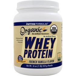 JARROW Whey Protein - Organic French Vanilla 16 oz