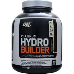 OPTIMUM NUTRITION Platinum Hydro Builder Chocolate Shake 4.59 lbs