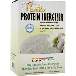 rainbow light protein energizer rice protein vanilla 8 pckts. Black Bedroom Furniture Sets. Home Design Ideas