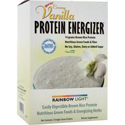 rainbow light protein energizer rice protein vanilla 8 pckts. Black Bedroom Furniture Sets. Home Design Ideas