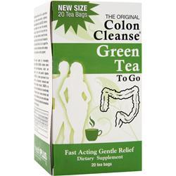 HEALTH PLUS Colon Cleanse to Go Tea Green Tea 20 pckts