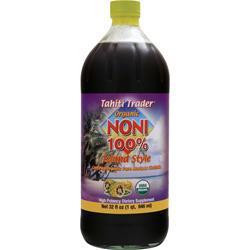 Tahiti Trader Noni 100% Island Style - Organic 32 fl.oz