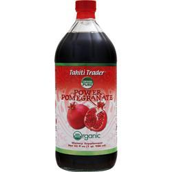 TAHITI TRADER Power Pomegranate - Organic 32 fl.oz