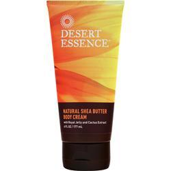 Desert Essence Hydrating Shea Butter Body Cream RoyalJelly&Cactus Extract 6 fl.oz