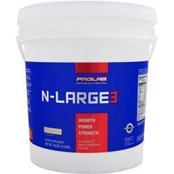 PROLAB NUTRITION N-Large 3 Vanilla Creme 10 lbs